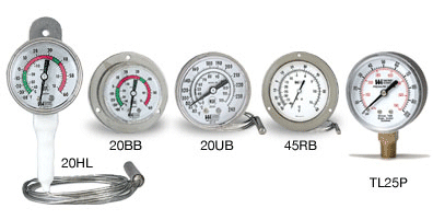 Food Service Vapor Thermometers