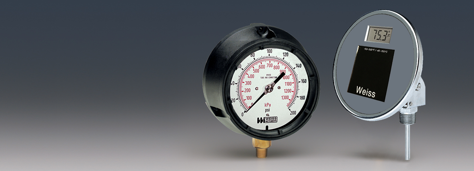 Manufacturer of Temperature and Pressure Instruments and Controls